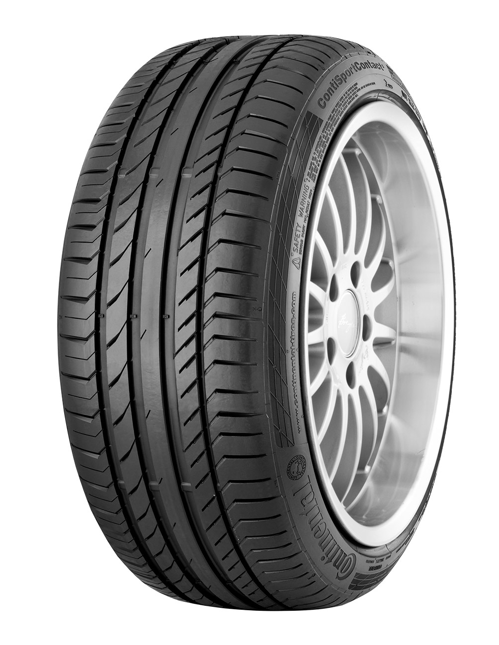 225/45/R17 CONTINENTAL ContiSportContact 5 91W