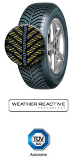 205/60/R16 GOODYEAR Vector 4Seasons 92H