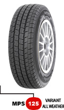 185/80/R14 C MATADOR MPS125 Variant All Weather 102/100R